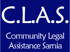 Community Legal Assistance Sarnia (CLAS)